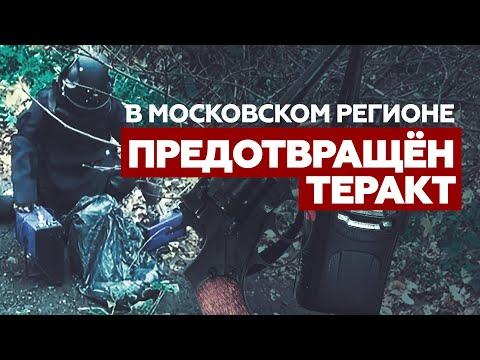 ФСБ предотвратила теракт в Московском регионе — видео