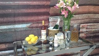 The French 75 - Paul's New Bar Cart