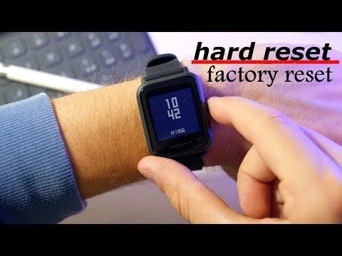 Как перезагрузить часы