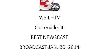 Best Newscast: Jan 30, 2014 WSIL-TV