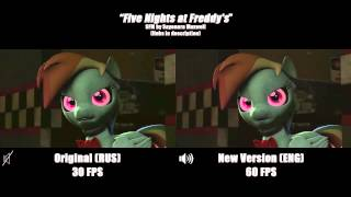 Five Nights at Freddy s Song Side by Side Comparison