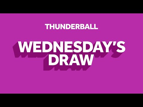 The National Lottery 'Thunderball' draw results from Wednesday 3rd June 2020