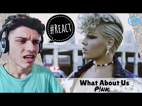 P!nk - What About Us | Reaction / Reação
