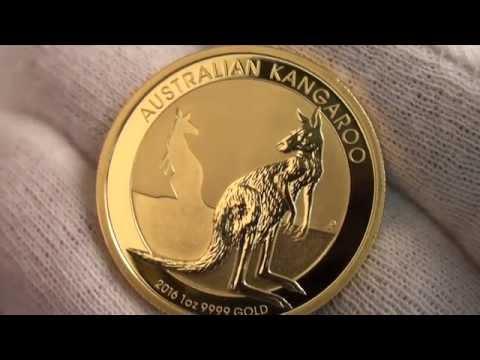 2016 Australian Kangaroo Gold Bullion Coins