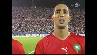 الـنشيد الوطني المغربي والجـزائري بـعنابة سنة 2011