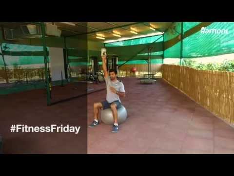 #FitnessFriday- Bottoms Up KettleBell