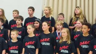 "D.A.R.E. Song ""I Will DARE"""