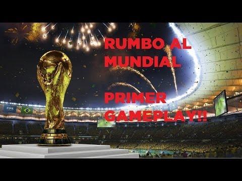 COPA MUNDIAL DE LA FIFA BRASIL 2014 -Avance y GAMEPLAY- ¡Camino del Mundial!