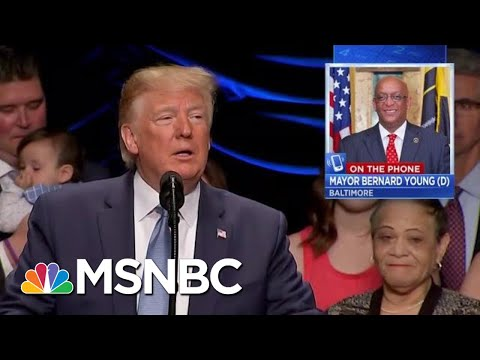 Baltimore Mayor: Trump Should Stop Tweeting And Send Federal Help | Velshi & Ruhle | MSNBC