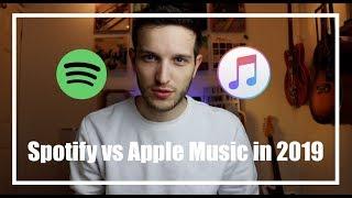Gambar cover Spotify vs Apple Music in 2019