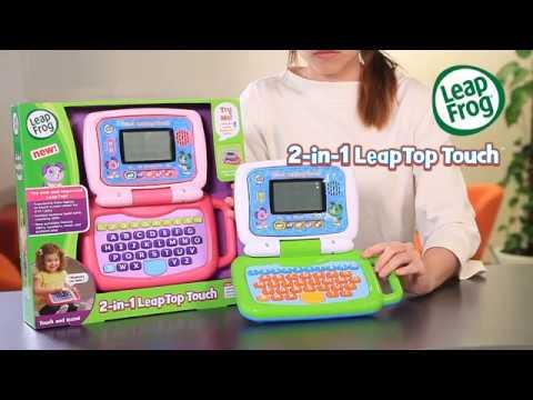 LeapFrogR 2 In 1 LeapTop TouchTM
