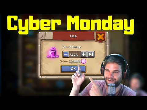 Cyber Monday Rewards | $100 Purchase | Events | Castle Clash