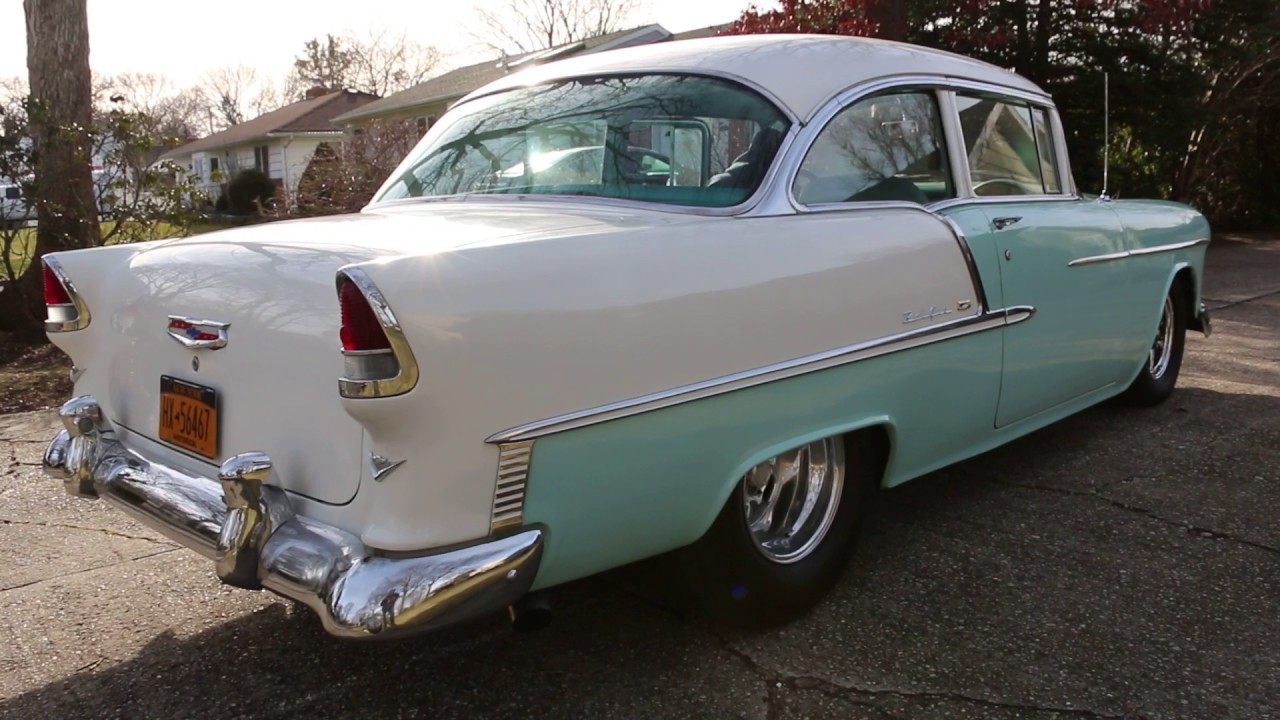 Webe Autos Reviews A Sick 1955 Chevrolet Belair 510 Steve Schmidt