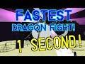 FASTEST Dragon Fight! ( 1 second ) 1.13-1.9 Vanilla Survival