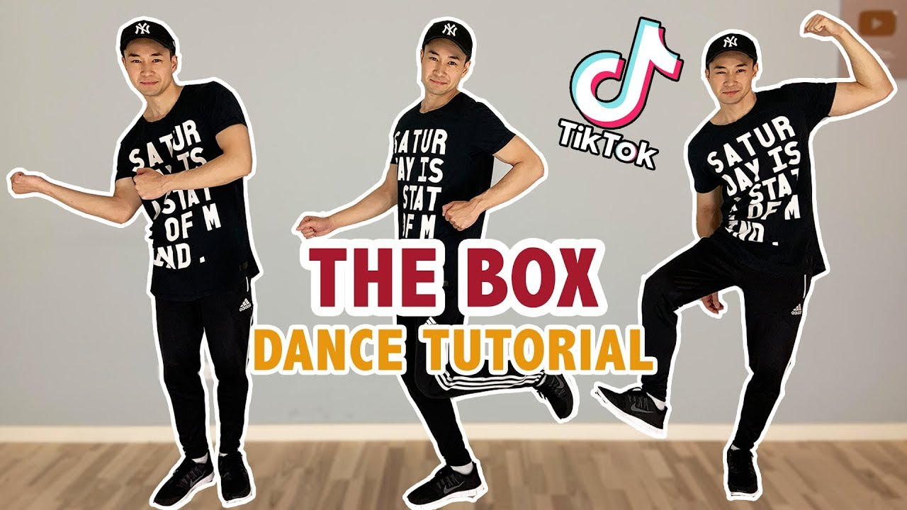 The Box Tik Tok Dance Tutorial Step By Step Youtube