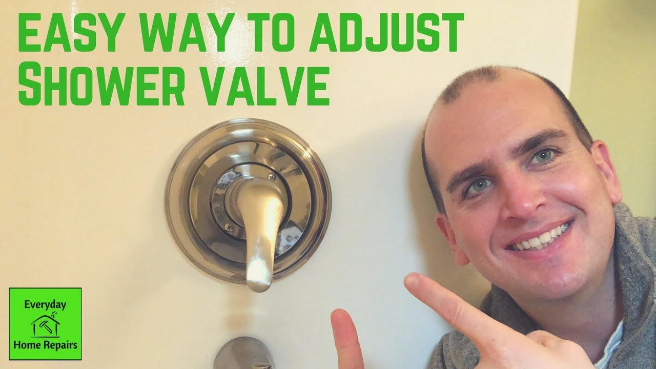 How to Increase Water Temperature for a Delta Shower Valve   YouTube