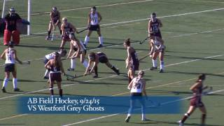 Acton Boxborough Varsity Field Hockey at Westford 9/24/15