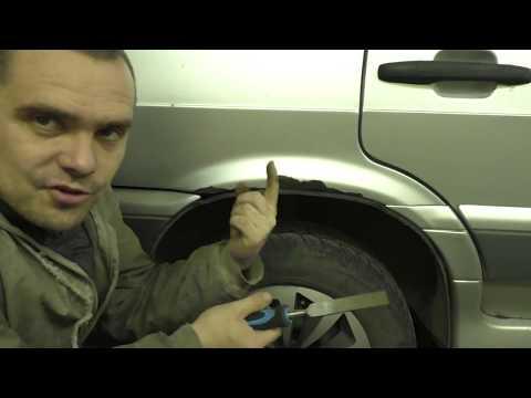 Как покрасить ржавчину на машине своими руками видео
