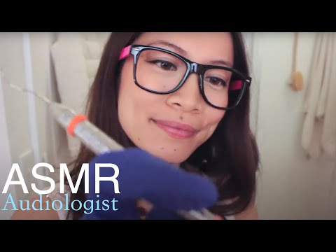 ASMR Slow Ear Cleaning Roleplay @ The Groomers and Spa Part2