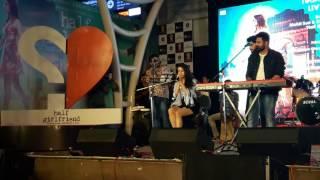 Shradha kapoor singing@ lower patel Mumbai, movie Half girlfriend
