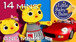 Road Safety Song for Children | Drive on Right Version | And More Nursery Rhymes by LittleBabyBum