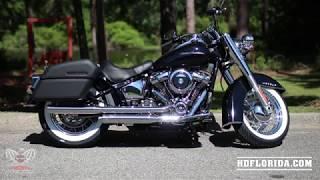 2019 Harley-Davidson Softail Deluxe in Vivid Black with Genuine Harley-Davidson Accessories