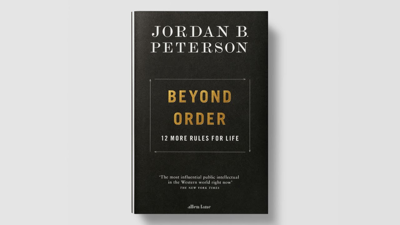 Announcement: BEYOND ORDER: 12 More Rules for Life - YouTube
