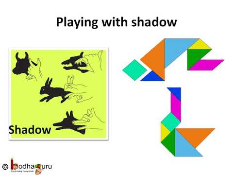 Playing With Shape - Shadow Shape And Tangram