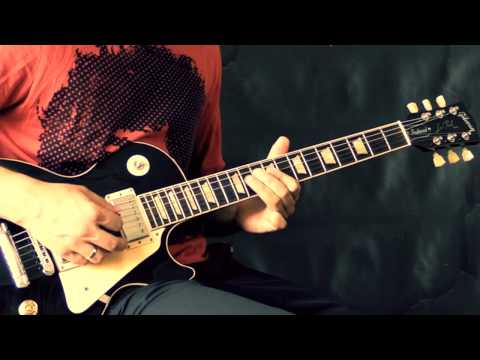Led Zeppelin - Good Times, Bad Times (w/Solo) - Rock Guitar Cover