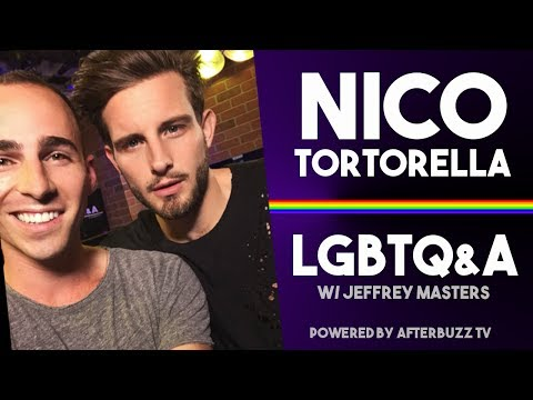 Nico Tortorella: Biphobia, Polyamory, and Understanding the Cosmos  | LGBTQ&A with Jeffrey Masters
