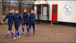 'Динамо' (U-19) провело тренування в Амстердамі