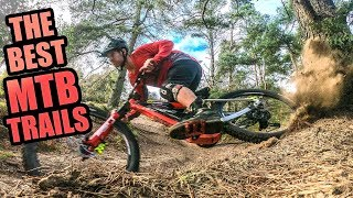 THE BEST MTB TRAILS IN ENGLAND - SURREY HILLS