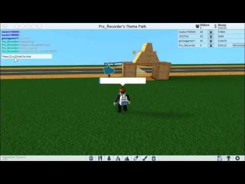 Roblox[]Theme Park Tycoon 2[] How To Put Ur Nautic Jet
