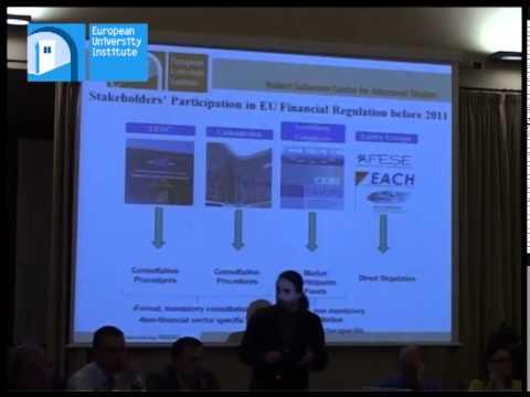Pablo Iglesias-Rodríguez EUI Civil Society Stakeholders and Financial Regulation (...)