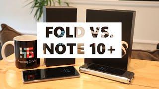 Samsung Galaxy Fold vs. Note 10 Plus (Part #1)