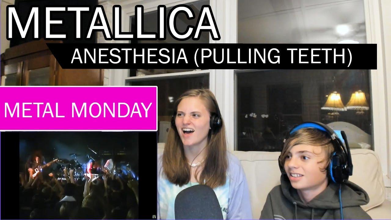 Metal Monday Reaction - Metallica | Anesthesia (Pulling Teeth) Live 1983