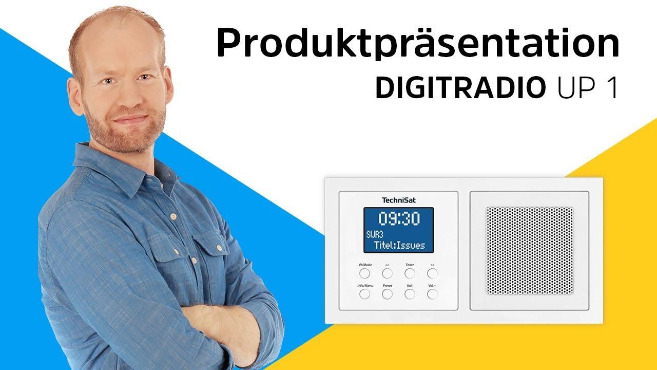 Video: Digitalradio für die Doppelunterputzdose. | DIGITRADIO UP 1 |  TechniSat