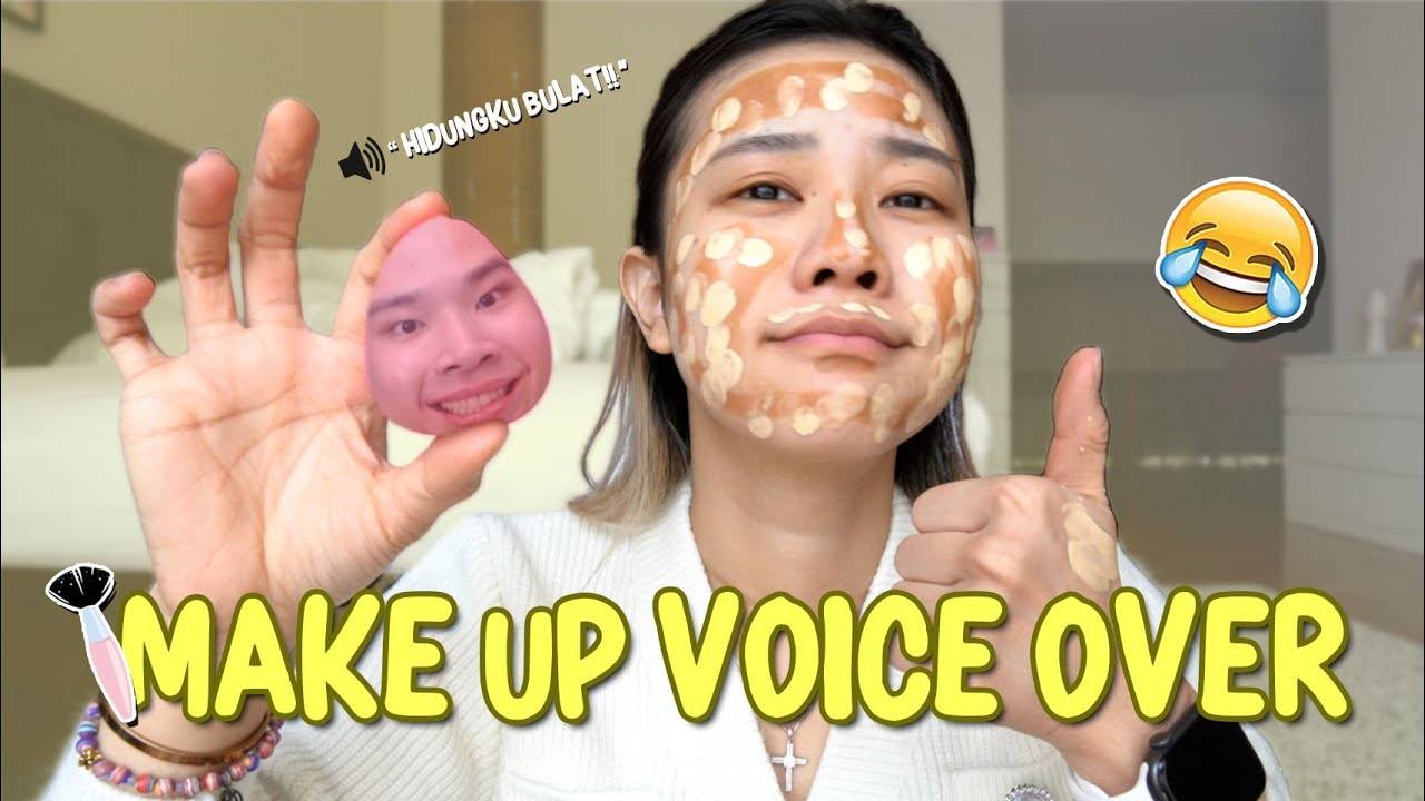 MY BROTHER DOES MY MAKEUP VOICER OVER