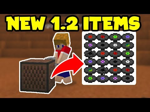 Minecraft Pocket Edition 1.2 Update - NEW ITEMS! Music Disc, JukeBox // Minecraft PE 1.2 Update