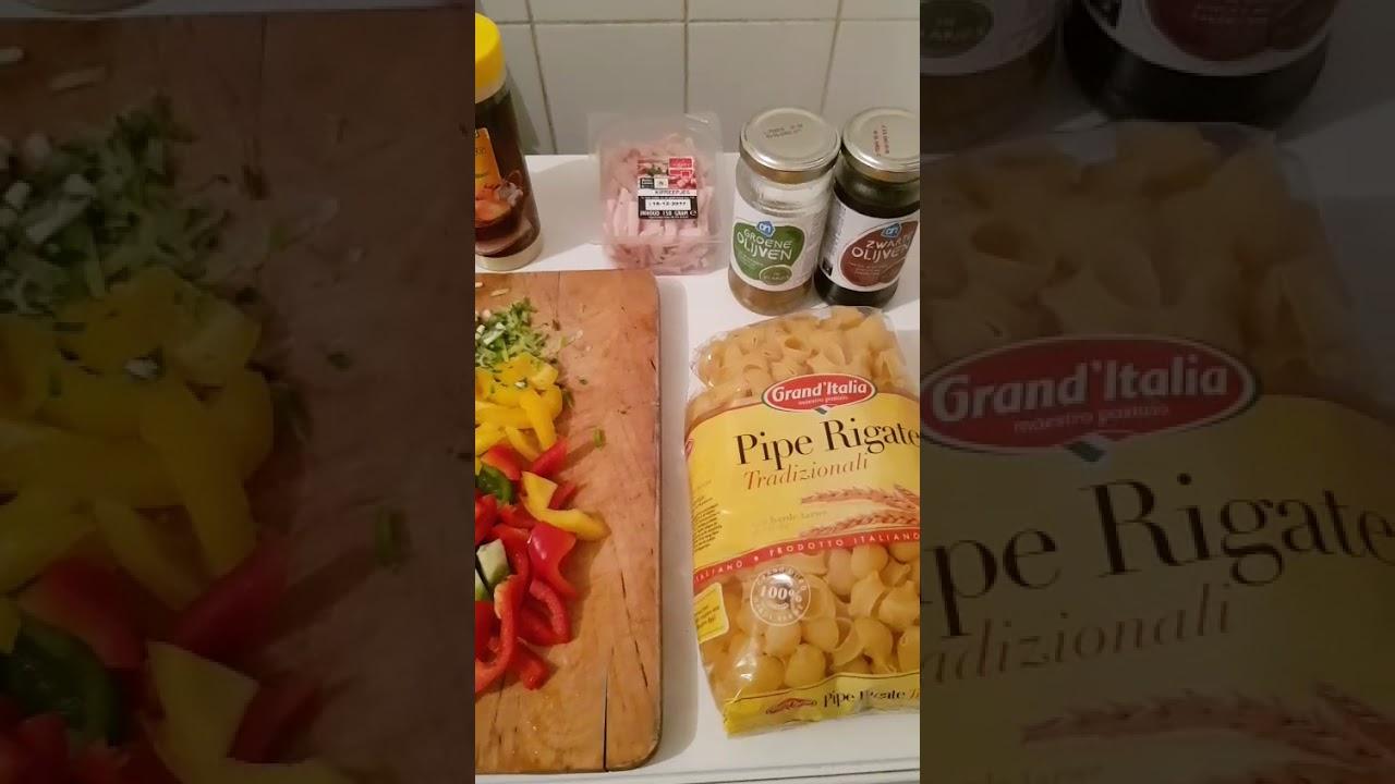 macaroni klaarmaken