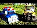 Мультики про машинки: Чак и его друзья! Мультфильм про эвакуатор и грузовичок.