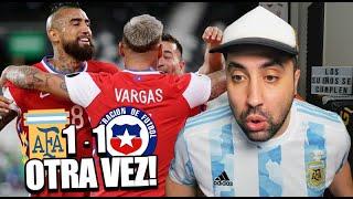 ARGENTINA 1 - 1 CHILE | Reacción de un Argentino | Copa América 2021