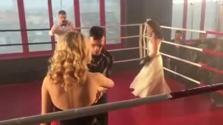 Киев днём и ночью 3 сезон , Карина и Оксана (бой) 61 серия