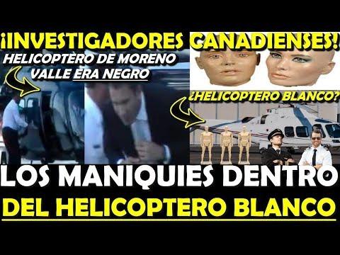 REVELA INVESTIGACION ¡FALSO LOS MANIQUIES EN HELICOPTERO! DE ALONSO Y VALLE - ESTADISTICA POLITICA
