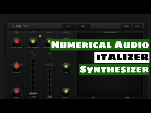 Numerical Audio iTALIZER AUv3 Synthesizer Sound Demo