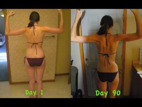 Amazing Transformation! P90X Before and After Results-Women - YouTube