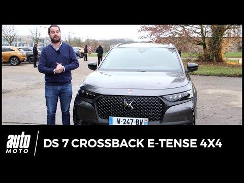 2019 DS7 Crossback E-Tense 4x4 : premier essai de la version hybride