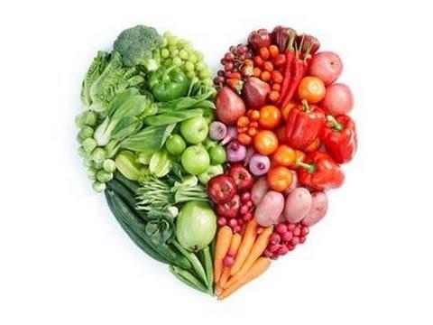 Heart healthy fruits and veg