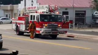Car Fire South Main Akron 8-31-2015