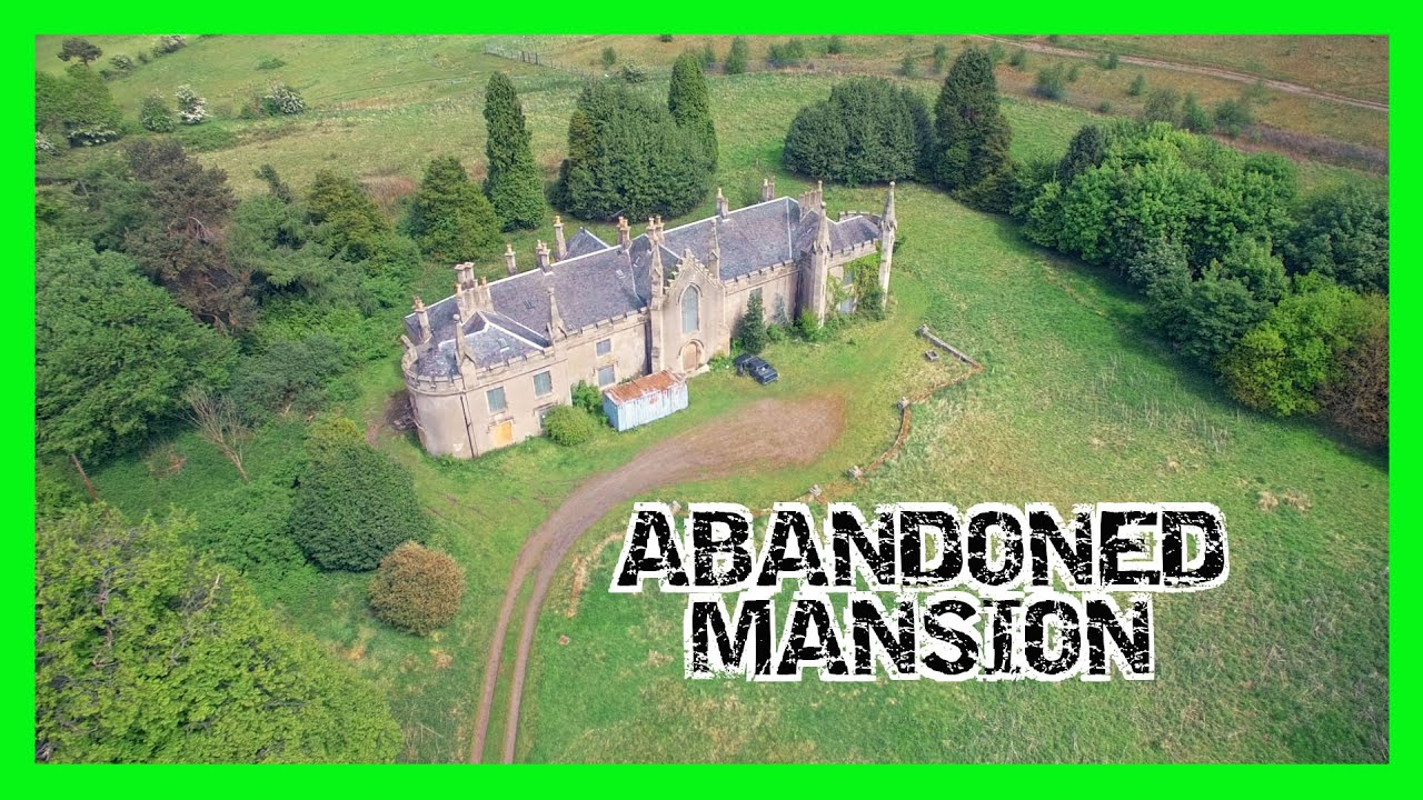 Abandoned Mansion House And Stables Avondale Abandoned